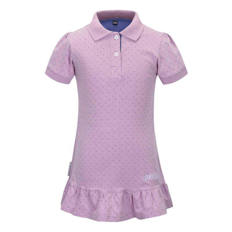 Detské tričko Skogstad Grinde - fialová