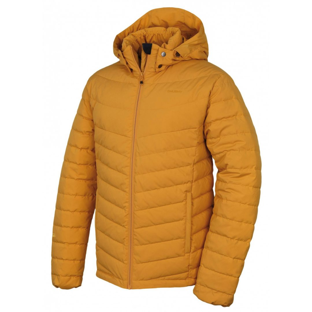 Pánska bunda Husky Donnie - krémovo žltá